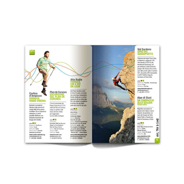 Dolomiti Super Summer Pocket Guide 2012 Hiking
