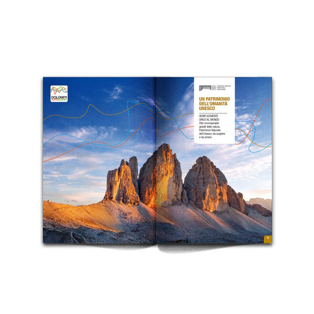 Dolomiti Super Summer Pocket Guide 2012 Tre Cime di Lavaredo