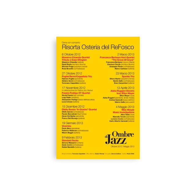 Ombre di Jazz 2012/13