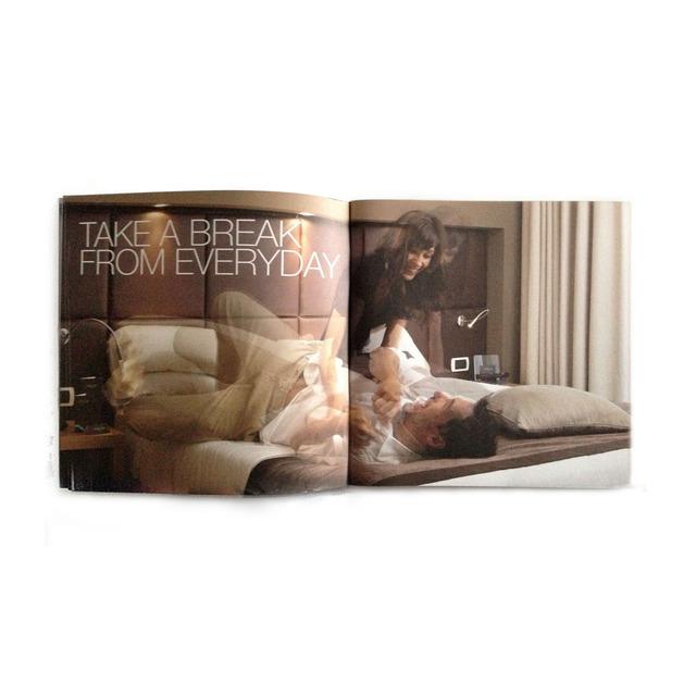Aqua hotel brochure rooms