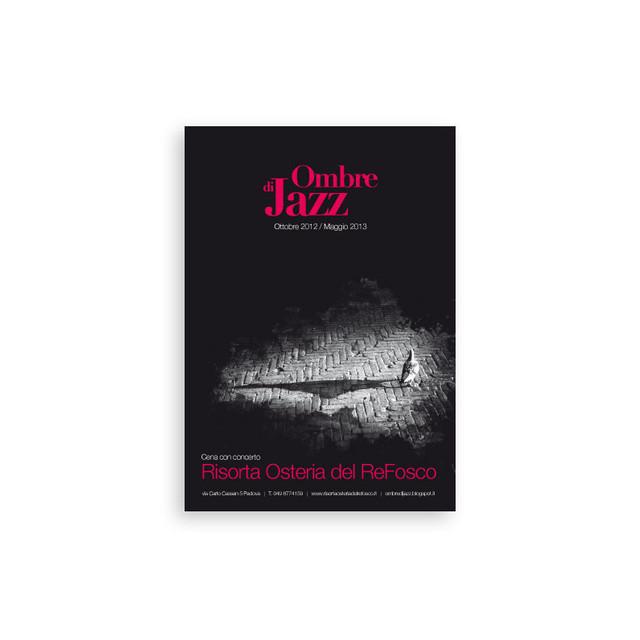 Ombre Jazz Flyer